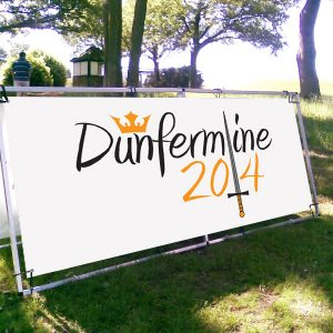 Dunfermline 2014 logo, which was used to promote Dunfermline in 2014.