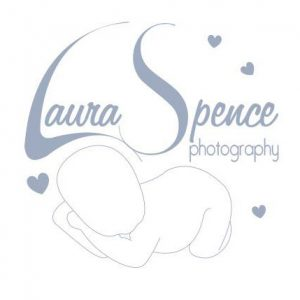 Laura Spence Photography Logo. Laura specializes in baby and child photography and is based in Fife.