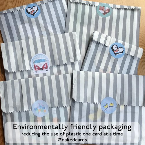 eco-friendly packaging for greeting cards
