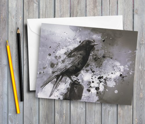 crow-greeting-card-