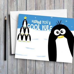 Cool Yule Penguins