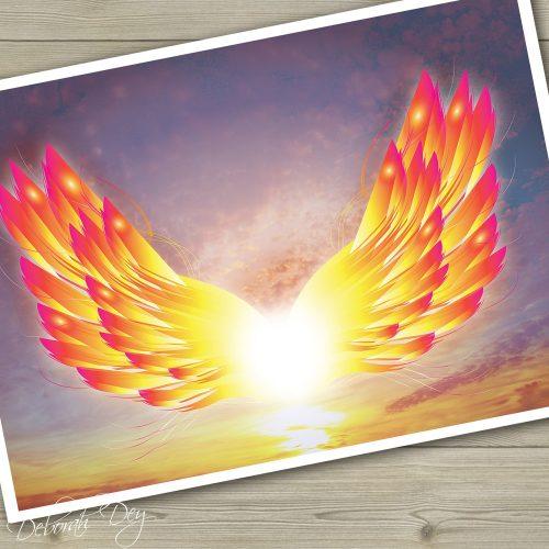 wings print