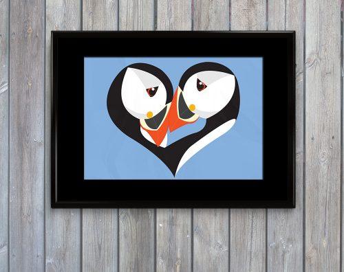 puffins-art-print