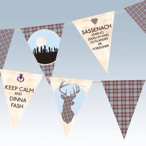scottish bunting