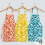 orange-lemon-citrus zing aprons