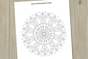 mandala#1-freebie