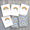 rainbow greeting cards