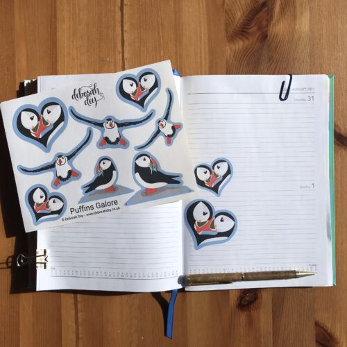 Puffin-stickers