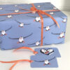 puffin wrapping paper, recyclable by Deborah Dey