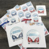 retro camper van gift box, gift wrap, tags, greeting cards & sticker