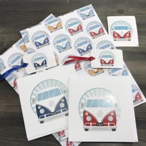 Retro Camper Van Gift Box