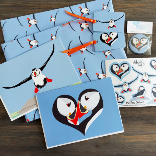 puffin love gift box contents