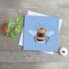 bumble-bee-greeting-card-deborah-dey