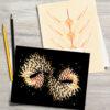 geometric design cards